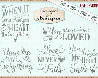 Valentine svg - Valentines svg bundle - Wedding svg - Love svg Bundle - svg for cricut or silhouette - Commercial Use  svg, dxf, png, jpg