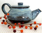 Ceramic Teapot - Handmade Teapot - Small Teapot - Gift For Her - Hand Thrown Stoneware Pottery - Ready to Ship