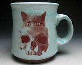 Skull Cat Mug