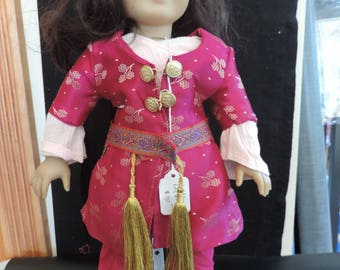 "Middle Eastern doll outfit - 18"" dolls fits American Girl Dolls"