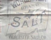 Very Vintage 25 Lb. Salt Sack