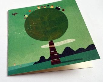 Card, shaft candy C088