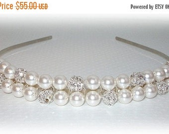 ON SALE 20% OFF Bliss Two Row Tiara