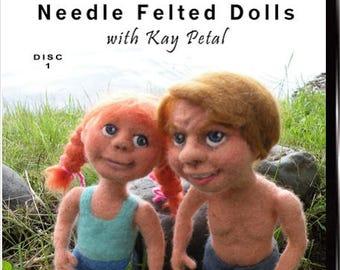 Felt Alive Video Workshop Needle Felted Doll / ON DVD
