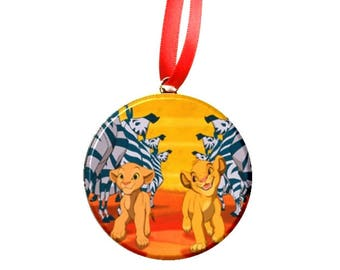 The Lion King Simba & Nala Ornament