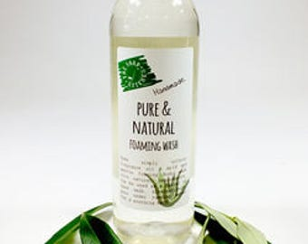Natural Handmade Pure and Natural Foaming Body Wash Paraben and SLS Free