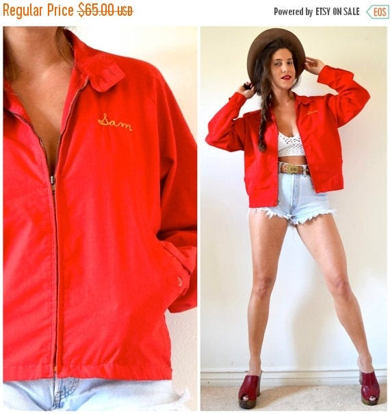 SUMMER SALE / 20% off Vintage 60s 70s Red Boy Scouts of America Official Jacket