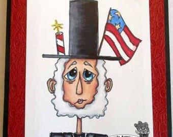2040 Mr Abe Digi Stamp