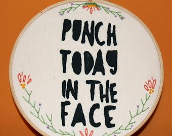 Punch Today in the Face Sampler