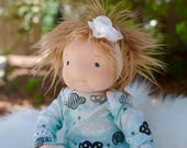 "Waldorf Inspired doll by Little Noel 14"" lightly weighted"