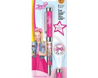 Jojo Siwa Projector Pen • 1.0mm Ballpoint Pen Ink Works (IW4160)