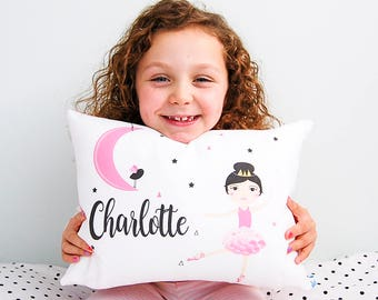 Moon Dancer Girls Personalised Cushion