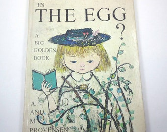 Who's in The Egg Vintage 1970s Children's Book by Alice and Martin Provensen