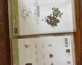 Stampin Up! Stamps for acrylic blocks