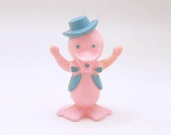 Vintage Easter Decoration Pink Duck