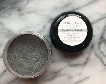 Detox Facial Mask//charcoal//cleasing
