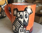 Day of the Dead Puppy Mug