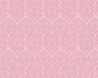 ON SALE Riley Blake Designs Garden Girl by Zoe Pearn - Damask Pink