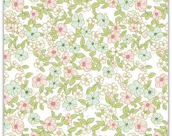 ON SALE Wonderland 2 by Melissa Mortensen Floral White Sparkle