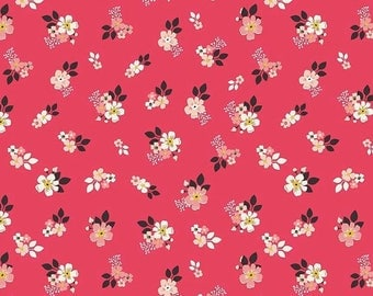 ON SALE Design By Dani Vintage Daydream Red Floral