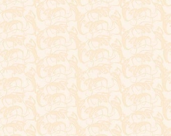 ON SALE Penny Rose Fabrics Trick or Treat Stripe Ghosts Cream
