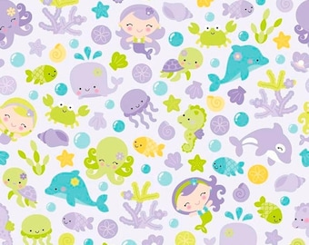 EXTRA15 20% OFF Under The Sea By Doodlebug Design Purple Main