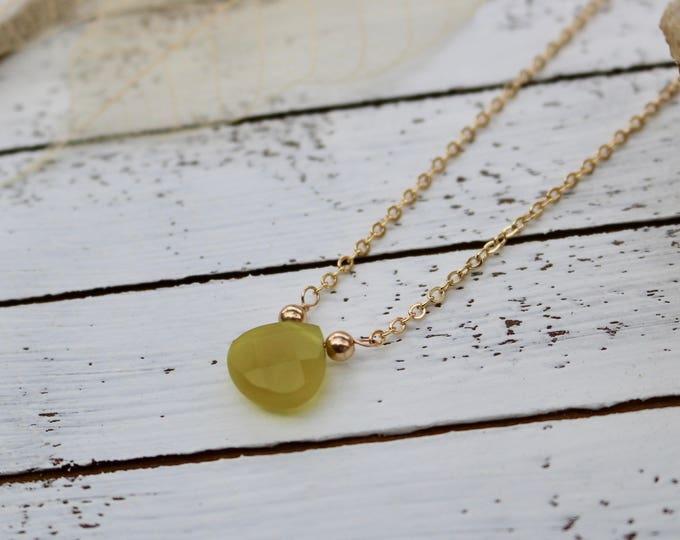 Korean Jade Gem Necklace