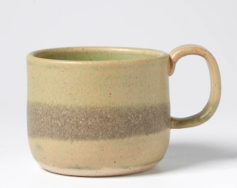 Mossy Green Coffee Cup