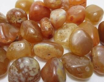 Carnelian Healing Stone Healing Crystal Chakra Energy Stone Reiki Meditation Metaphysical Spiritual lot d