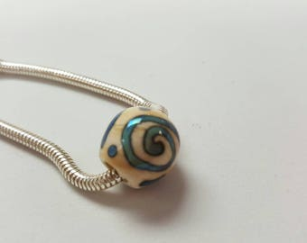 Handmade Large Hole Bead for Bracelet