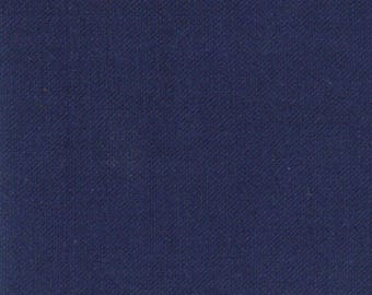 Nautical Blue (9900 238) - Bella Solids fabric Moda Basics