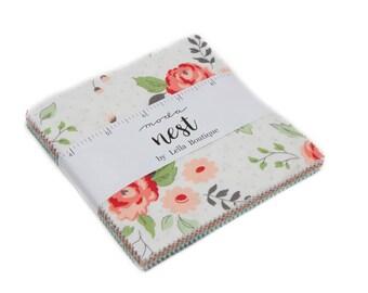 Nest (5060PP) by Lella Boutique - Charm Pack