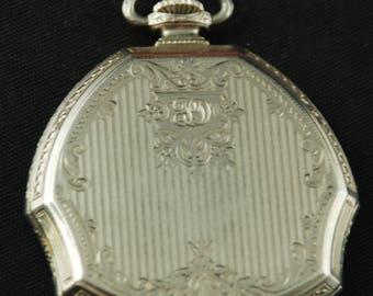 Beautiful Vintage Antique Steampunk Pocket Watch Body Case X 99