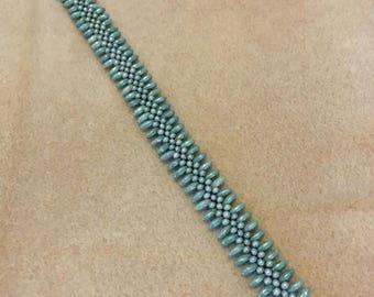 Blue Centipede Bracelet