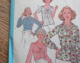 Vintage Misses Blouse/Top Pattern