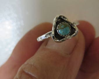 Triangle Turquoise Stacker