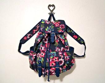 Large Backpack, Canvas Backpack, Floral Backpack, Aeropostale backpack
