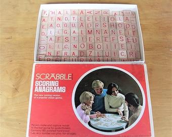 Vintage Anagrams Vintage Letters Letter Anagram Anagrams Lot of 170 Plus Vintage Wooden Anagrams