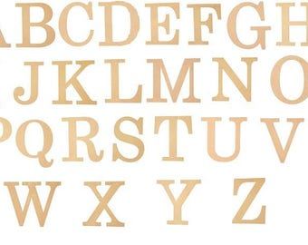 """10"""" Wooden Letters Choose your Letter A-Z-CLOSEOUT SPECIAL 1/2 PRICE"""