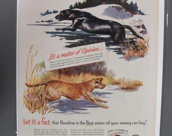 Tex #123 Texaco  Magazine Ad -  1951