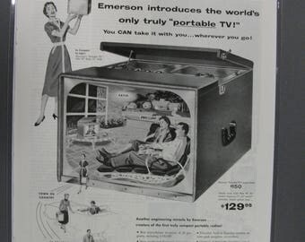 Rad   # 134     Philco Radio     Magazine Ad -   1954