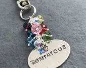 Disney Cast Member Name Tag Keychain or Purse Charm - Add Your Name - Personalized For You