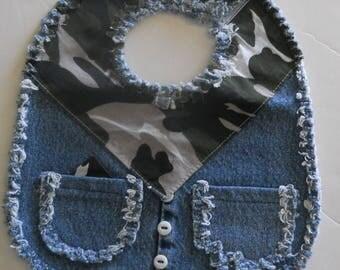 Cowboy bib-costume,Baby.SZ 1 - 3