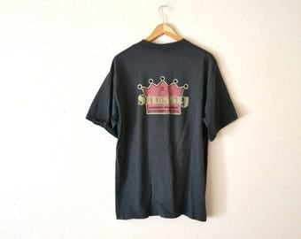 1990's STUSSY Authentic Workwear T-Shirt