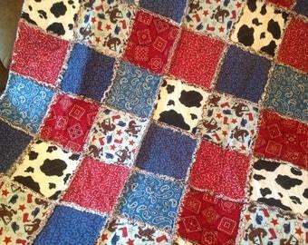 Handmade Rag Quilt Etsy