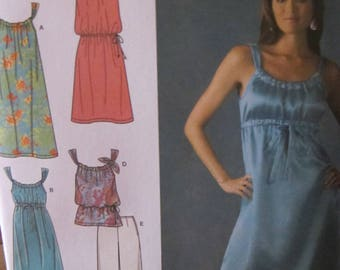 New/Uncut - 2007 Simplicity Easy to Sew 3742 - Coordinates