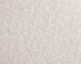 White 20/80 Wool Blend Felt 12x18
