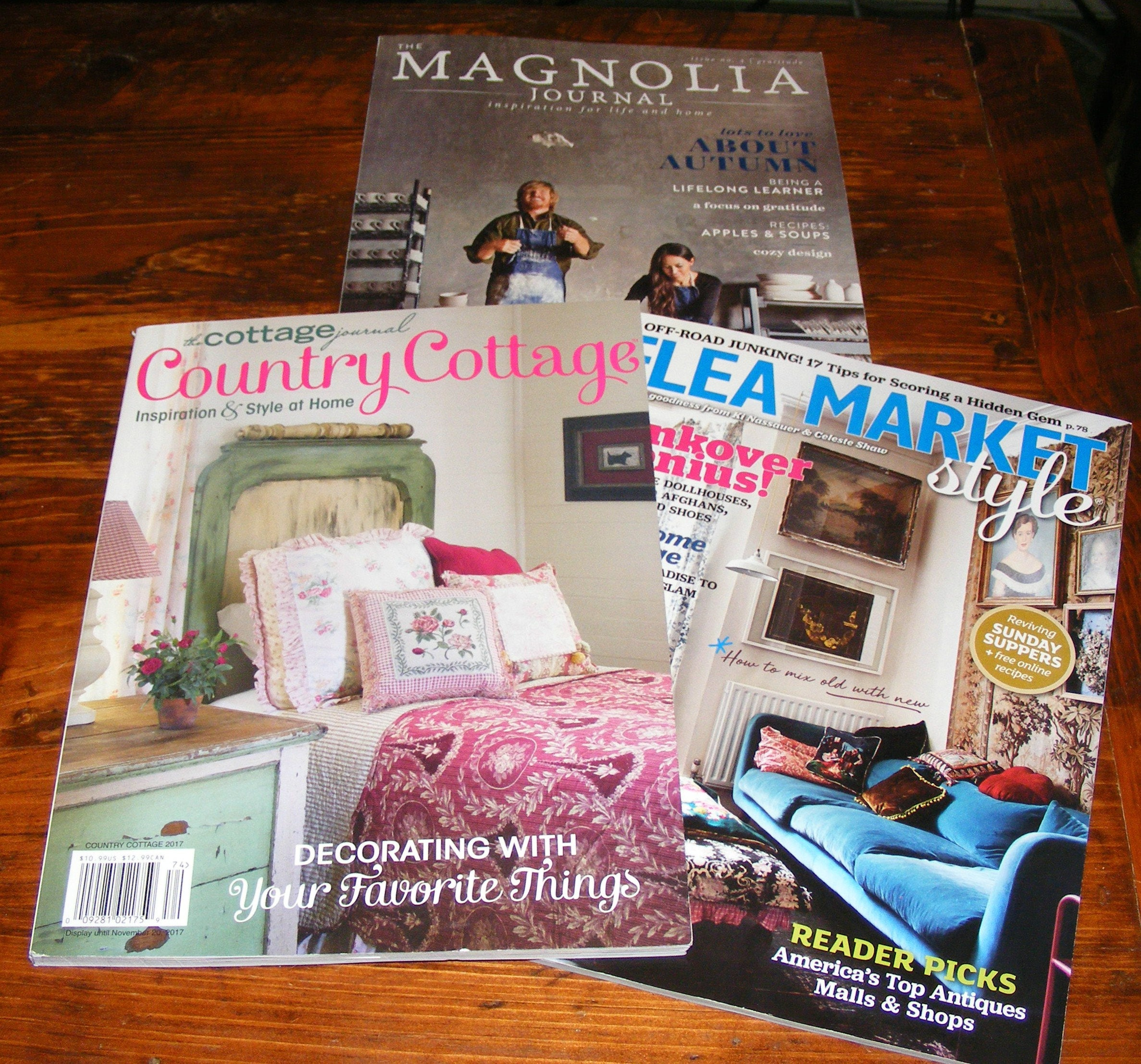 The cottage journal country cottage 2017 magnolia journal fall for Country cottage magazine