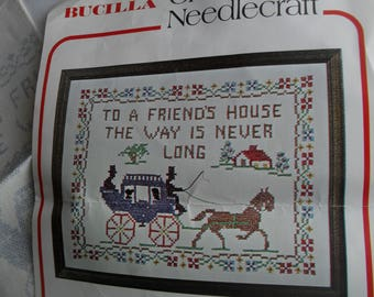 Bucilla Kit Sampler Bucilla Stitchery Kit New