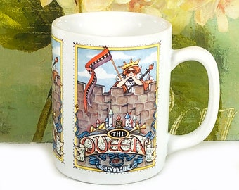 The Queen of Everything - Vintage Coffee Mug, 1986